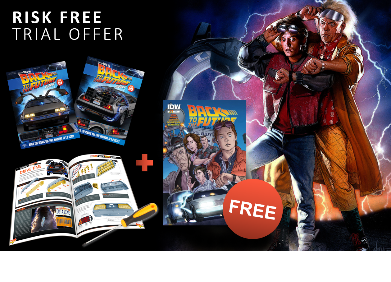 Intro Offer + FREE Back To The Future comic