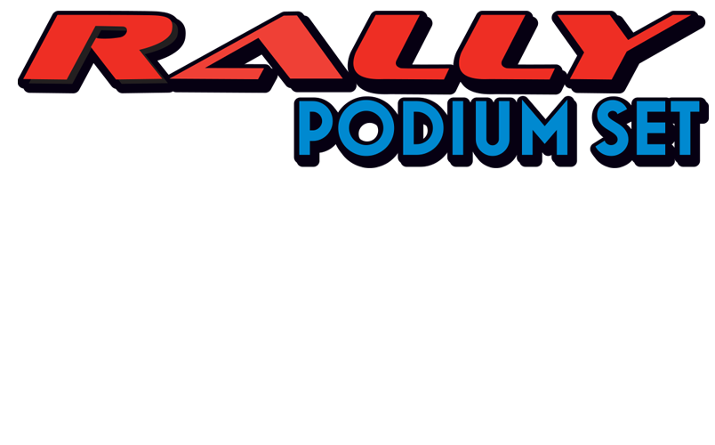 Rally Podium Set