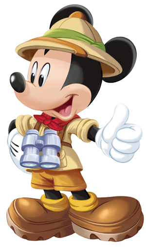 Mickey Mouse Safari Ranger