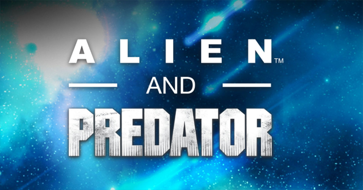 Alien and Predator figurines
