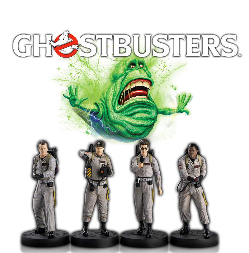 Ghostbusters figurines