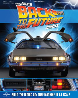 Back to the Future Build the DeLorean issue 1