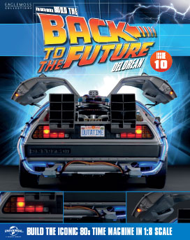 Back to the Future Build the DeLorean issue 10