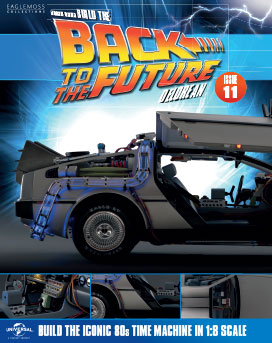 Back to the Future Build the DeLorean issue 11