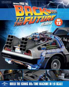 Back to the Future Build the DeLorean issue 12