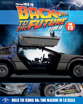 Back to the Future Build the DeLorean issue 13