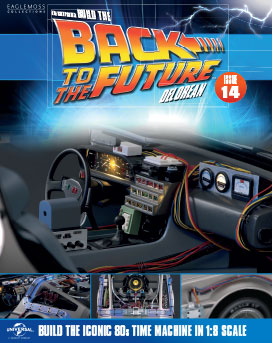 Back to the Future Build the DeLorean issue 14