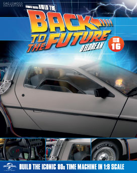 Back to the Future Build the DeLorean issue 16