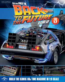 Back to the Future Build the DeLorean issue 17