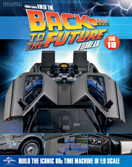 Back to the Future Build the DeLorean issue 18