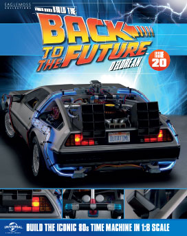 Back to the Future Build the DeLorean issue 20