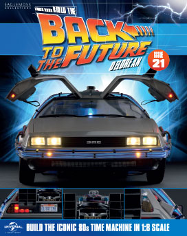 Back to the Future Build the DeLorean issue 21
