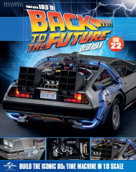 Back to the Future Build the DeLorean issue 22
