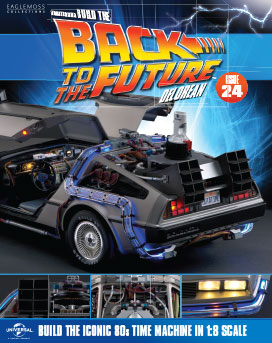 Back to the Future Build the DeLorean issue 24