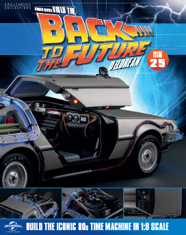 Back to the Future Build the DeLorean issue 25
