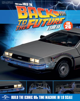 Back to the Future Build the DeLorean issue 26