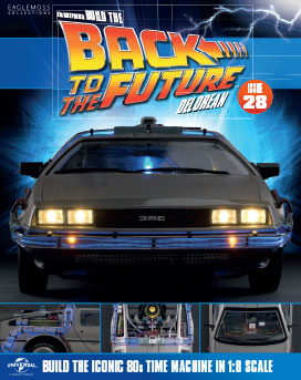 Back to the Future Build the DeLorean issue 28