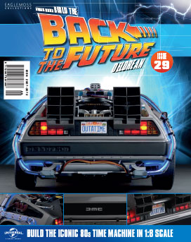Back to the Future Build the DeLorean issue 29