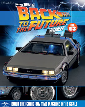 Back to the Future Build the DeLorean issue 3
