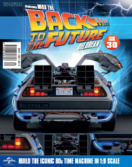 Back to the Future Build the DeLorean issue 30