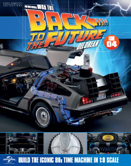 Back to the Future Build the DeLorean issue 4