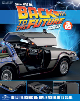 Back to the Future Build the DeLorean issue 5