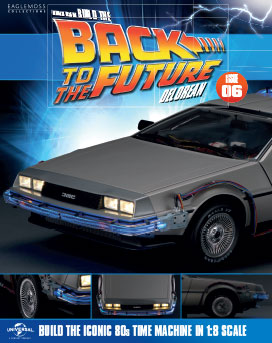 Back to the Future Build the DeLorean issue 6