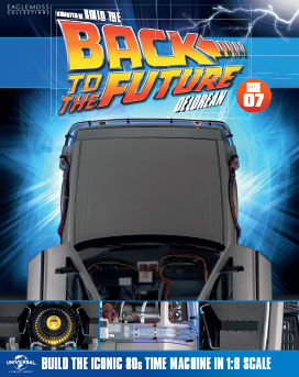 Back to the Future Build the DeLorean issue 7