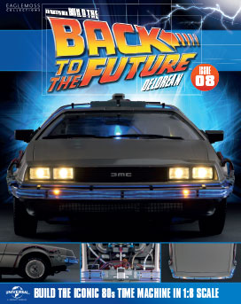 Back to the Future Build the DeLorean issue 8