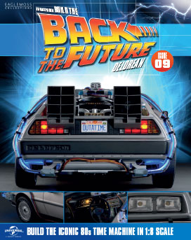 Back to the Future Build the DeLorean issue 9