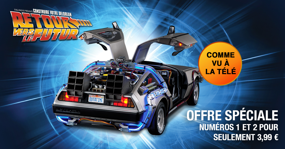 DeLorean new subscriber offer
