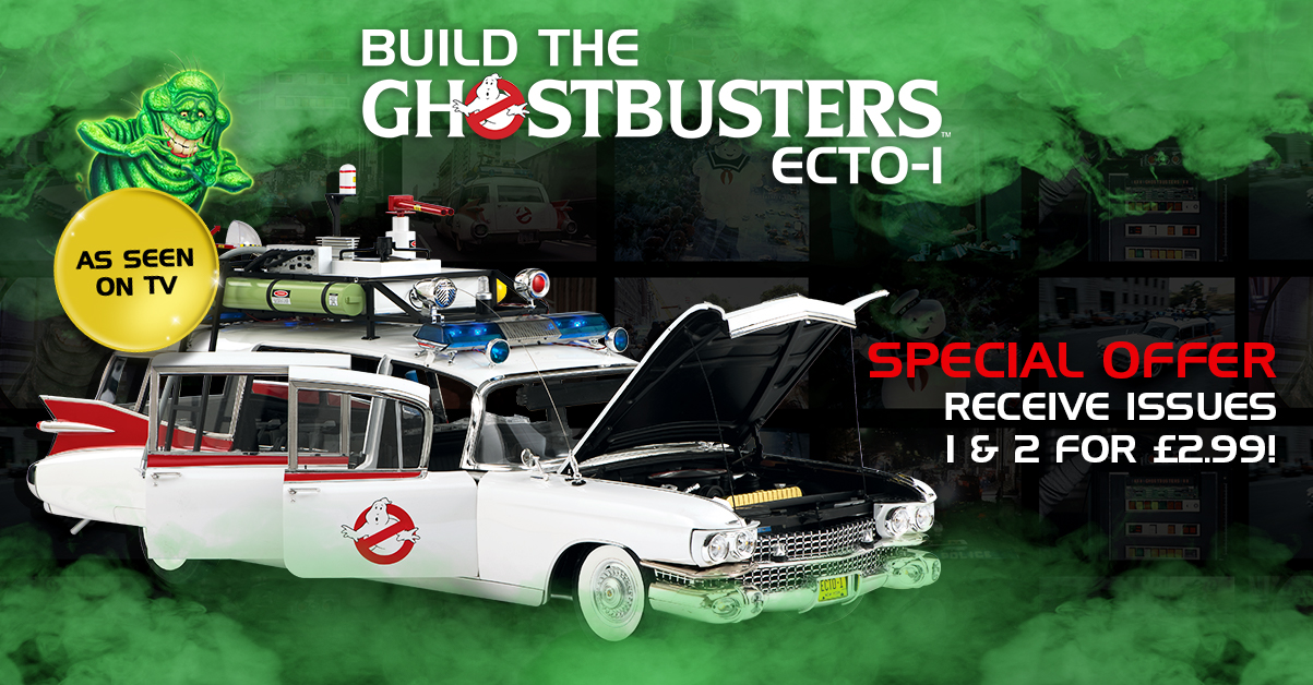 Ghostbusters Ecto-1 car special offer