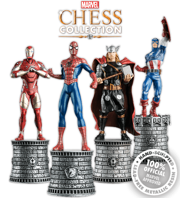 marvel chess pieces