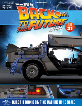 Back to the Future Build the Delorean issue 31