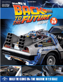 Back to the Future Build the Delorean issue 32
