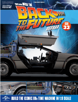 Back to the Future Build the Delorean issue 33