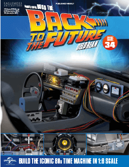 Back to the Future Build the Delorean issue 34