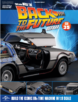 Back to the Future Build the Delorean issue 35