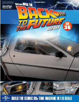 Back to the Future Build the Delorean issue 36
