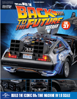Back to the Future Build the Delorean issue 37
