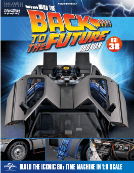 Back to the Future Build the Delorean issue 38