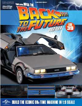 Back to the Future Build the Delorean issue 39