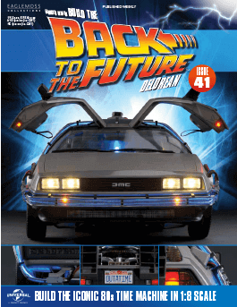 Back to the Future Build the Delorean issue 41