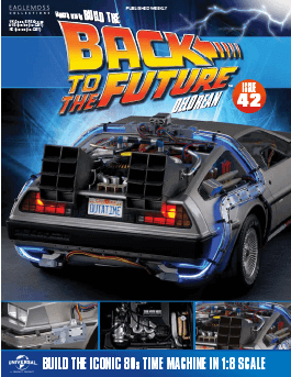 Back to the Future Build the Delorean issue 42