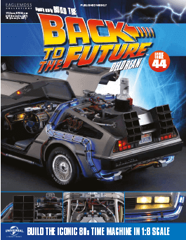 Back to the Future Build the Delorean issue 44