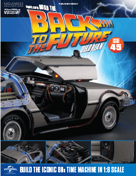 Back to the Future Build the Delorean issue 45