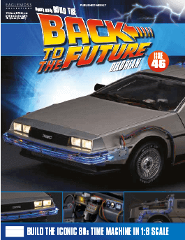 Back to the Future Build the Delorean issue 46