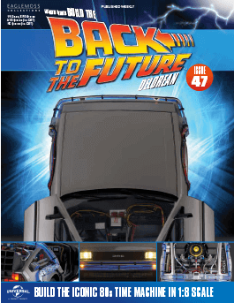 Back to the Future Build the Delorean issue 47