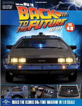 Back to the Future Build the Delorean issue 48