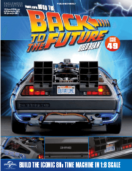 Back to the Future Build the Delorean issue 49